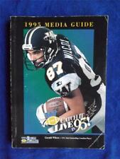 WINNIPEG BLUE BOMBERS CFL FOOTBALL 1995 MEDIA GUIDE SCHEDULE BOOK MAGAZINE