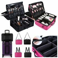 Makeup Beauty Bag Cosmetic Case Storage Handle Travel Organizer Artist Kit Box