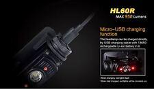 Fenix HL60R Rechargeable 950 lumens Waterproof Headtorch 2600 Battery Included