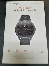 Withings Steel HR Sport Smartwatch (40mm) - Activity Tracker, Heart Rate Monitor