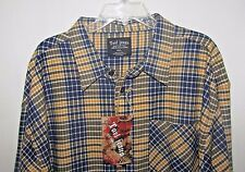 Tool Jeans NWT Long Sleeve Button Up Shirt Size 4XL