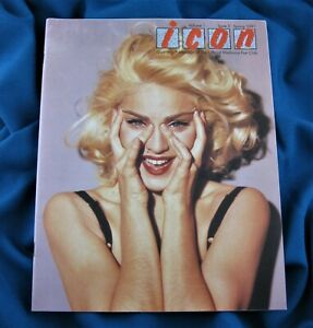 MADONNA ICON MAGAZINE #3 Vol 1 Issue 3 1991 OFFICIAL FAN CLUB T Or D Promo Era