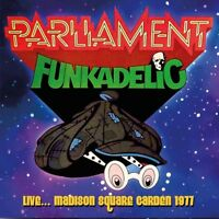 PARLIAMENT-FUNKADELIC - LIVE,,,MADISON SQUARE GARDEN 1977   CD NEW!