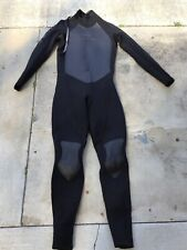 Mens O'Neill Hammer Wetsuit 3:2 large Black gray pre-owned