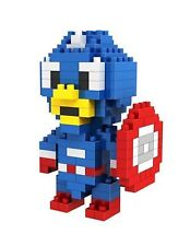 LOZ  Diamond Blocks  Micro Building Blocks  Toy Captain America (130PCS)