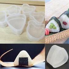 2pcs Bento Decorated Sushi Onigiri Mold Food DIY Rice Ball Mould Transparent