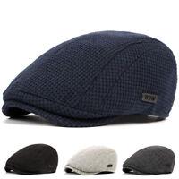 Unisex Men's Cotton Gatsby Cap Golf Driving Flat Cabbie Beret Newsboy Hats New