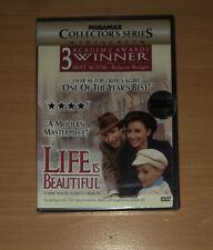 New Sealed! Life Is Beautiful Widescreen Dvd Roberto Benigni