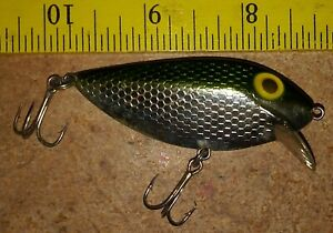 Pre Rapala Storm ThinFin 21/2 in. Chrome/green Fishing Tackle lure Bass Musky