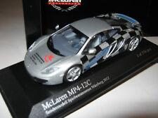 1:43 McLaren mp4-12c German Toy Fair 2012 le 576 MINICHAMPS 533133023 neuf dans sa boîte New