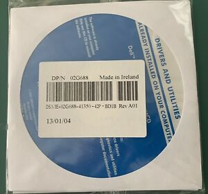 Dell Drivers and Utilities Installation CD DP/N 02G688 Sealed 3CD Pack
