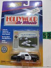 JOHNNY LIGHTNING HOLLYWOOD ON WHEELS THE BLUES BROTHERS - P1 STATE  POLICE