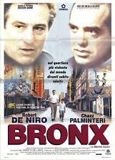 A Bronx Tale 1993 Robert DeNiro Italian two-sheet poster