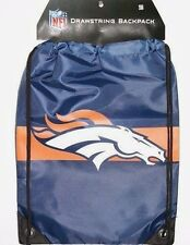 Denver Broncos NFL Drawstring Backpack Bag by Forever Collectibles