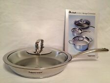 New Tupperware Chef Series 28 Cm Frying Pan With Cover