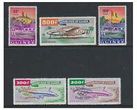 Guinea - 1960 Olympic Games set - MNH - SG 248/52
