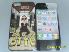 IPHONE 5G COVER RIGIDA PROTETTIVA SFONDO GANGNAM STYLE ART.17