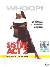 Sister Act 2 - Piu' Svitata Che Mai (1993) DVD Edizione Con Ologramma Tondo