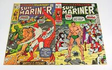 Sub-Mariner #31 VF- & #33 FN/VF Stan Lee GLOSSY & CRISP BRONZE AGE MARVEL COMICS