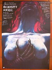 Polish Poster  - Fire Angel - Pagowski
