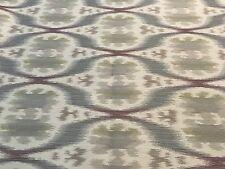 Kravet Ethnic Ikat Purple Grey Woven Upholstery Fabric (32548-11) 2.0 yds