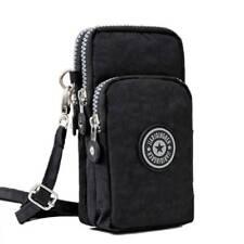 Fashion Women Men Mobile Phone Bag Case Pouch Cross Body Purse Mini Shoulder Bag