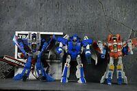 Transformers Deluxe Class Figure Lot X3, SCOURGE, THUNDERCRACKER, STARSCREAM!