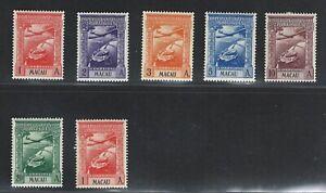 Portuguese Macau | 1938 | Airmail | MH OG (incomplete)