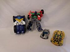 Playskool Transformers Rescue Bots Chase Police Bot & Optimus Prime Figure Lot +
