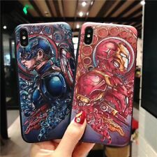 Cool Superhero Soft Silicone TPU Phone Case Cover For iPhone 6-XS Max 11 Pro Max
