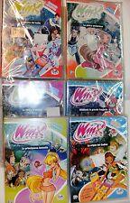 WINX CLUB lotto 6 DVD incellofanati . SECONDA STAGIONE - ED. RAINBOW 2005
