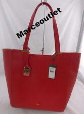 Lauren Ralph Lauren Acadia Tote Red $138