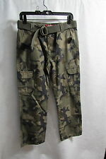 New Boys  Arizona  Camo Cargo Pants  Size 16 Husky