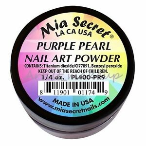 Mia Secret Pearl Acrylic Nail Powder Art Collection 12 Colors  to Choose from
