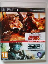 Rainbow Six Vegas 2 - Ghost Recon 2 - Double pack - PlayStation 3.
