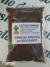 TERRICCIO SPECIFICO PROFESSIONALE PER SUCCULENTE 1KG PIANTE GRASSE CACTUS