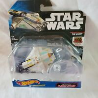 Star Wars Rebels Hot Wheels Starships - The Ghost w/ Flight Stand