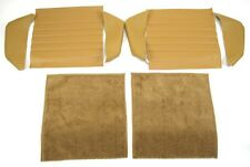 NEW Porsche 911 85-94 STANDARD COMBO Front Seat  & Rear Seat Upholstery Kit