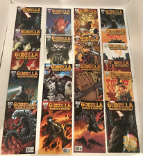 LOT OF 20 GODZILLA KINGDOM OF MONSTERS # 1-12 COMPLETE SET + 8 VARIANTS IDW 2011