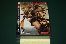 Metal Gear Solid 4 Limited Edition (Playstation 3 PS3) NEW SEALED MINT, RARE!