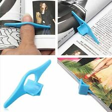 Top Thumb Book Page Holder Marker Finger Ring  Plastic Reading Helper Book Mark