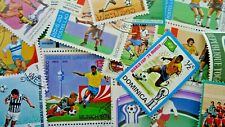 Thematic pack x 100 Football mainly MNH & CTO FREE DELIVERY