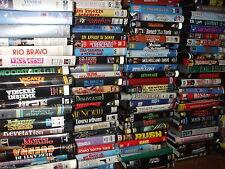 LOTTO 90 VHS FILM ORIGINALI