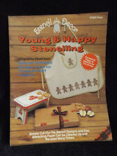 Young & Happy Stenciling Leaflet by Stencil Decor