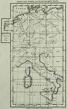 DEUTSCHES REICH Deutschland, Niederlande, Polen, Österreich - Kupferkarte 1800