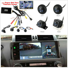Waterproof 360° Panoramic System Seamless 4 Camera Car DVR Parking Rear View Cam