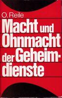 Macht und Ohnmacht der Geheimdienste USA/England/UdSSR/Frankreich/Deutschland