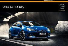 Opel Astra OPC 04 / 2014 catalogue brochure tcheque Czech rare