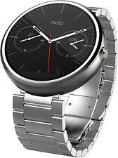 Motorola Moto 360 1st Gen Smartwatch - Light metal