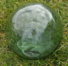 "VTG Japanese Glass Fishing Float, 37 1/2""Circumference, Green"